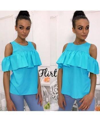 Блузка с воланом FG