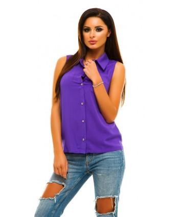 Блуза штапель violet