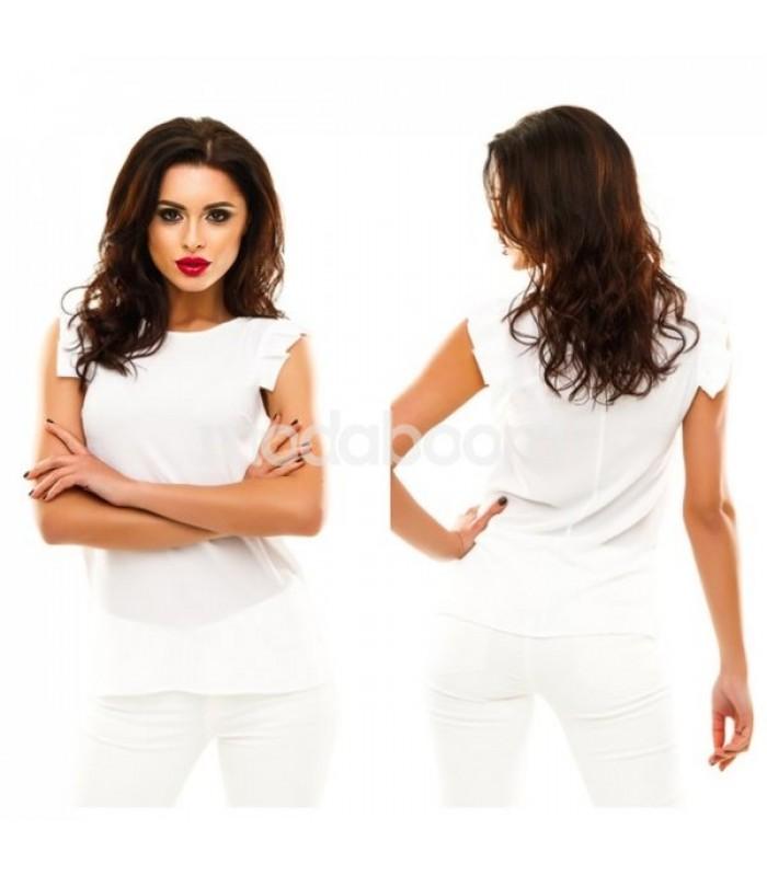 Блузка шифон white